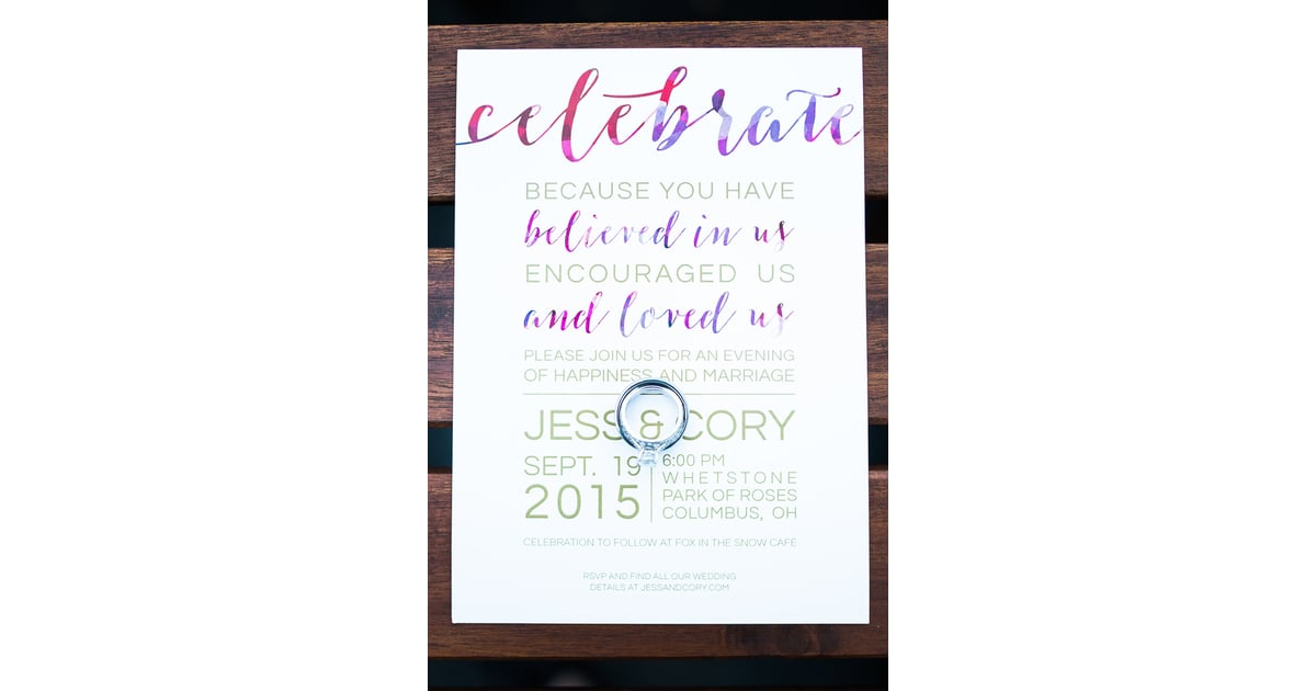 instead of professional invitations affordable wedding