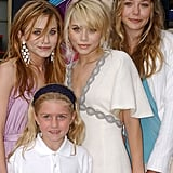When Mary-Kate Olsen and Ashley were honoured with a star on the Hollywood Walk of Fame in 2004, little sister Elizabeth was there to cheer them on.