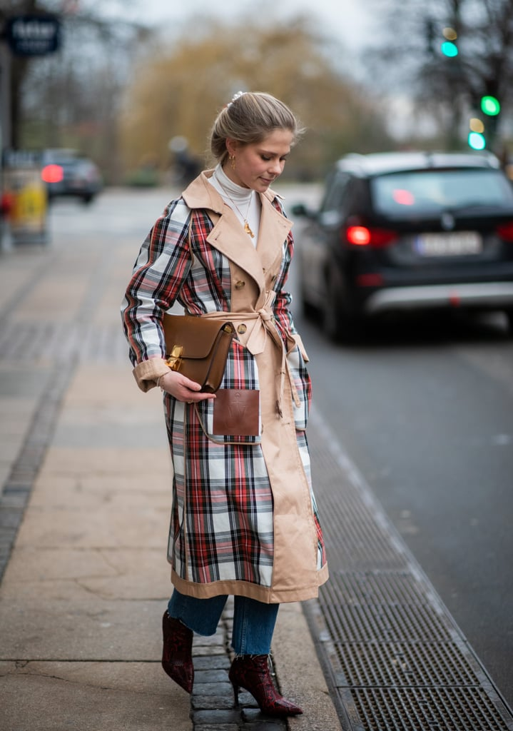 Not All Trench Coats Have To Be Basic