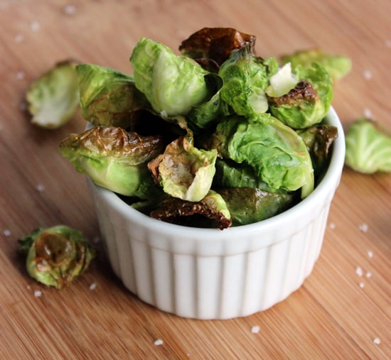 Roasted Brussels Sprouts Crisps