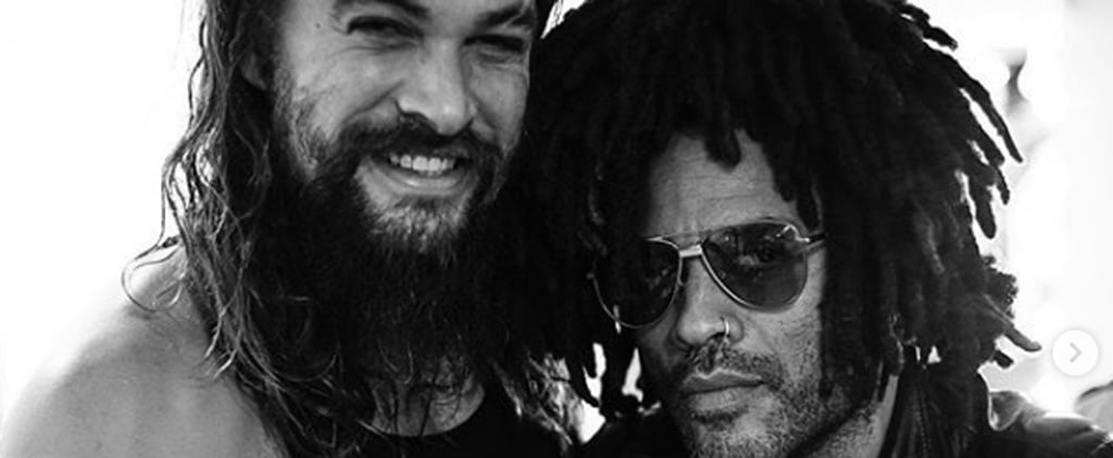 Jason Momoa and Lenny Kravitz Instagram Photo December 2018