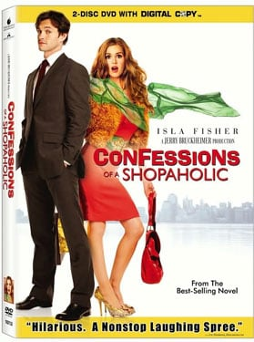 New on DVD, Confessions of a Shopaholic