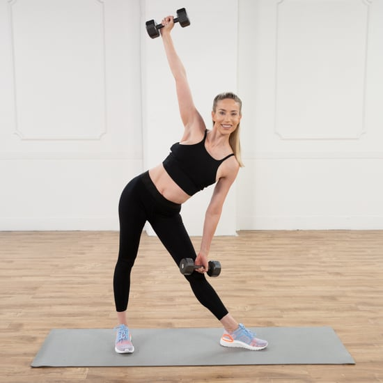 20-Minute Arms and Abs Toning Workout With Astrid Swan