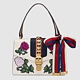 Gucci Sylvie Embroidered Small Shoulder Bag