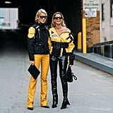 Be sure to coordinate with your BFF like Caroline Daur and Helena Bordon.