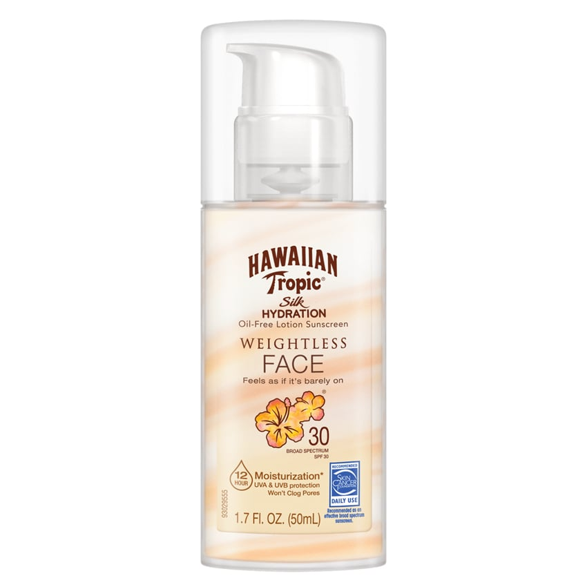 Hawaiian Tropic Silk Hydration Weightless Face Oil-Free Lotion Sunscreen