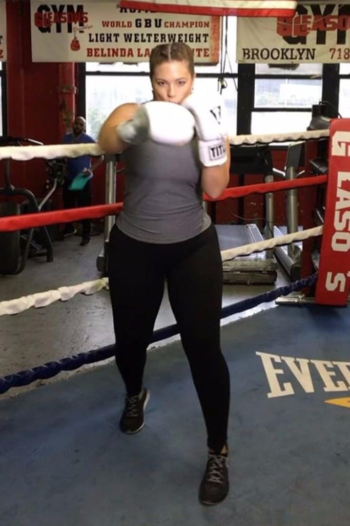 Ashley Graham's Fitness Instagrams