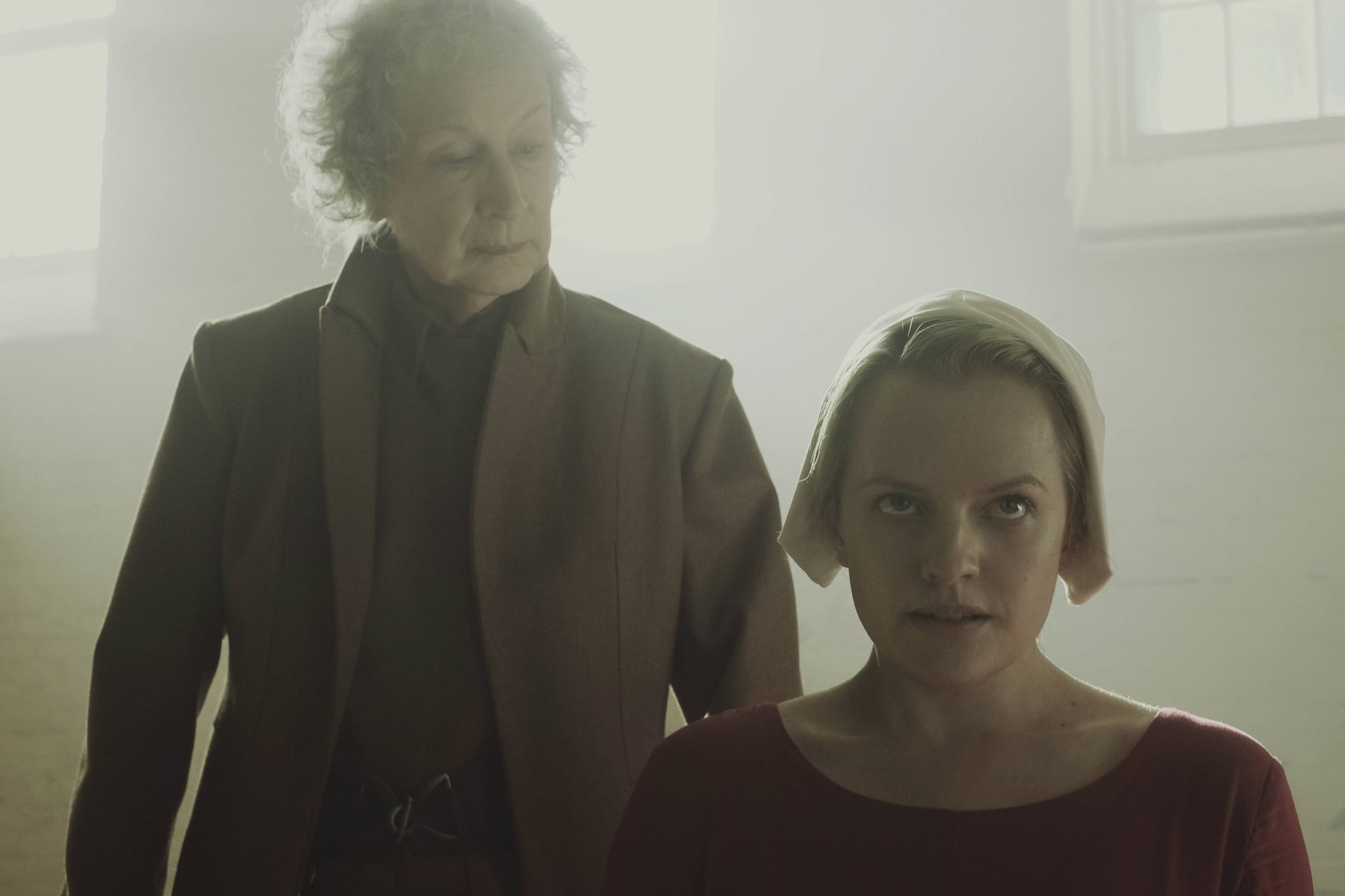 analysis of the handmaids tale by margaret atwoods Atwood's classic dystopia, the tale of a concubine in an oppressive future america is more vital than ever, writes charlotte newman.