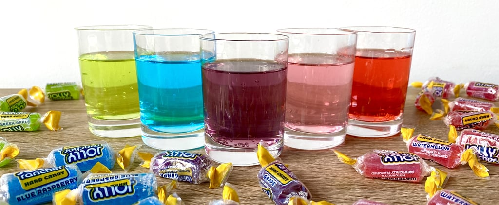 How to Make Rainbow Jolly Rancher Shots