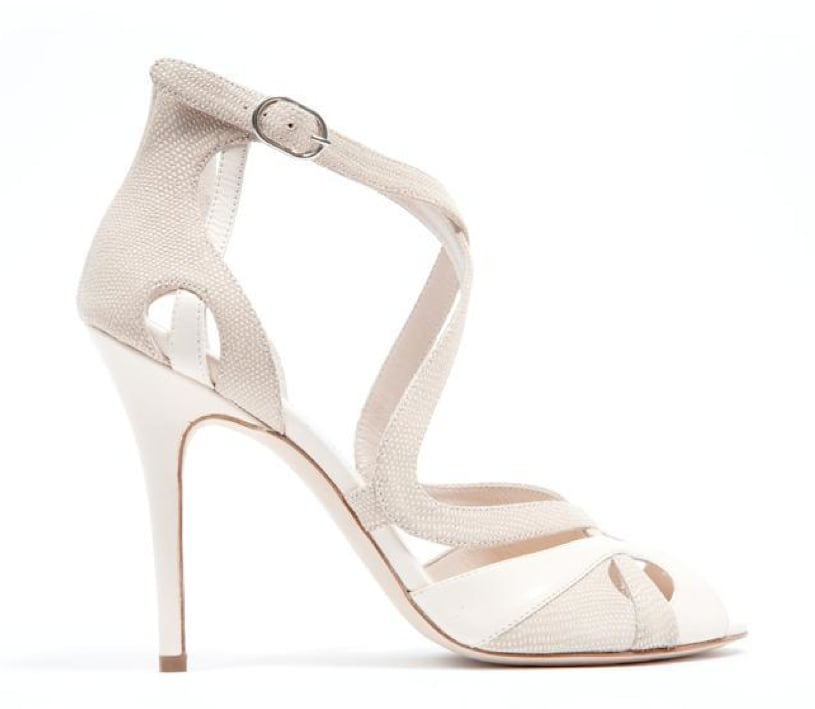 Monique Lhuillier Bone Kid/Piper Combo Sandal ($895)
