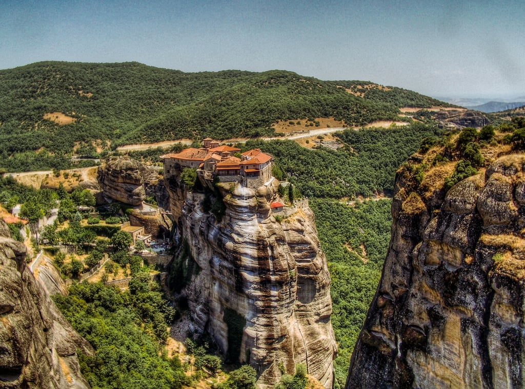 Did you know that the Eyrie exists in real life? The Meteora monasteries in Greece served as the setting for the impressive Sky Castle in Game of Thrones and offer panoramic views of the Greek countryside for visitors willing to make the intimidating climb to the top.