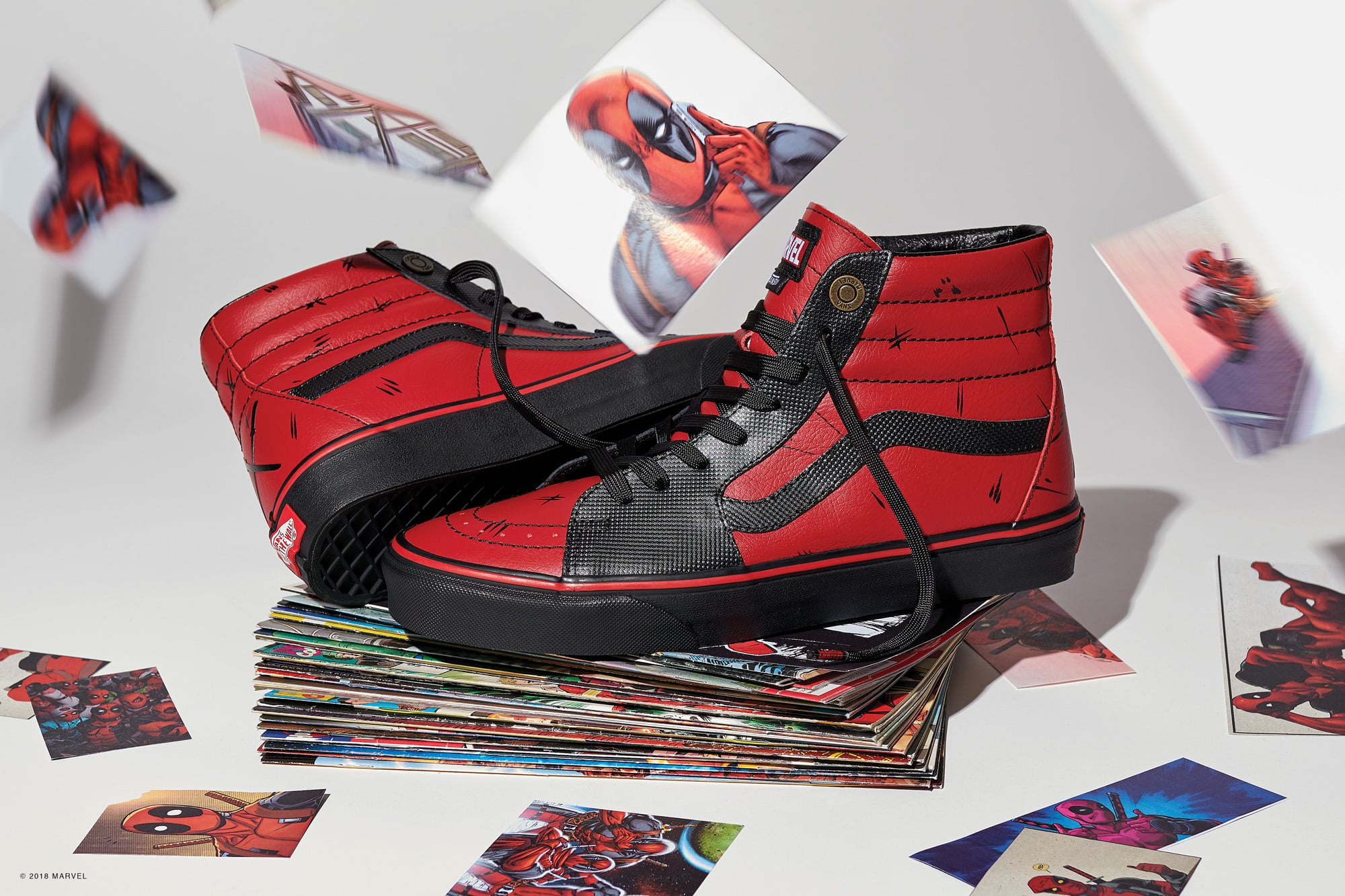 marvel vans deadpool