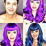 When This Guy Transformed Himself Into Katy Perry