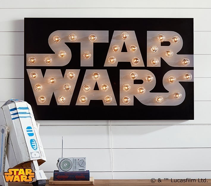 Star Wars Marquee Wall Art