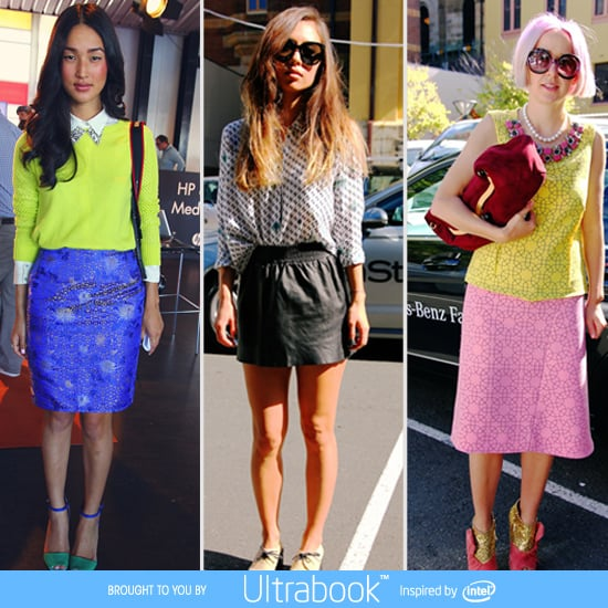 Street Style From 2012 Fashion Week Australia: It's All About The Skirt!