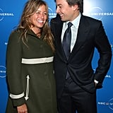 Jimmy Fallon and Nancy Juvonen in May 2008