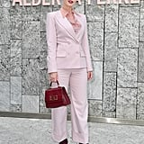 Lady Kitty Spencer at the Alberta Ferretti Milan Fashion Week Show