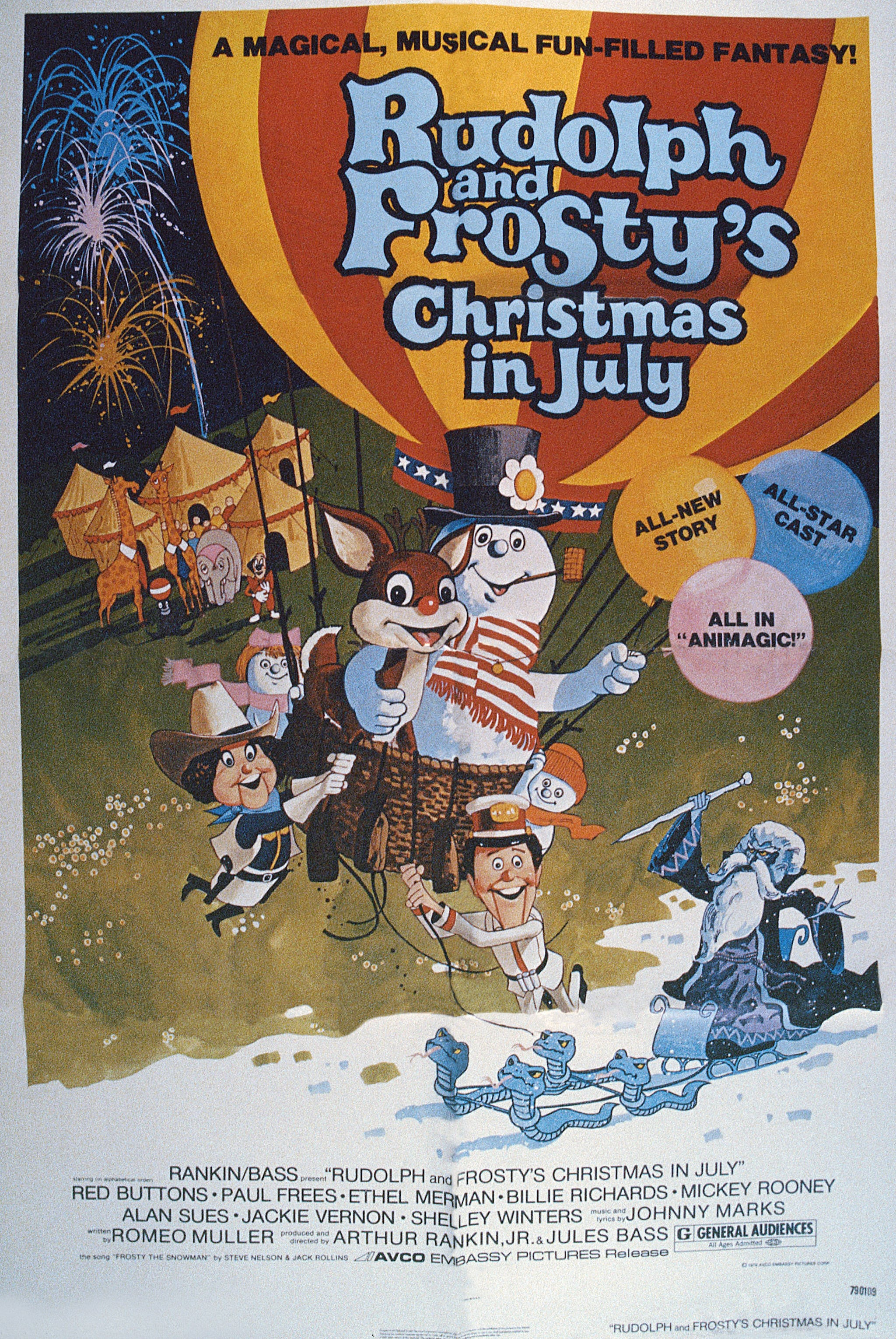 Rudolph And Frostys Christmas In July.Rudolph And Frosty S Christmas In July 1979 You Ll Be