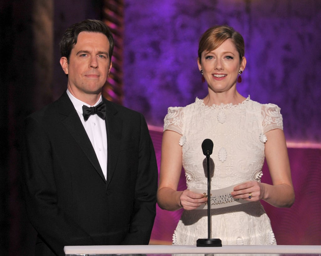 Ed Helms and Judy Greer