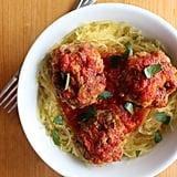Paleo Meatballs and Spaghetti Squash