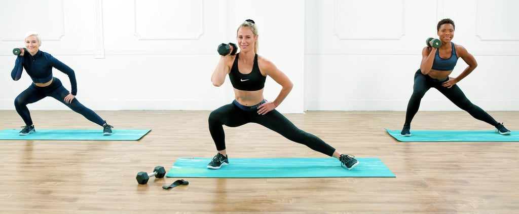 45-Minute Full-Body Nike Workout With Bands and Weights