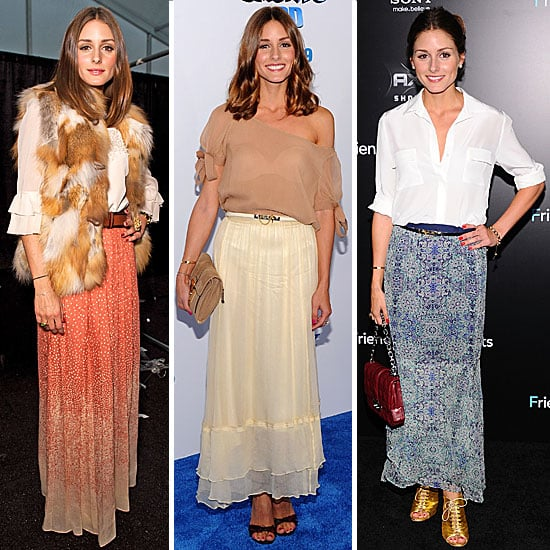 Olivia Palermo Style: How to Wear a Maxi Skirt