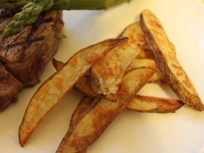 Recipe: Crispy Oven Fries