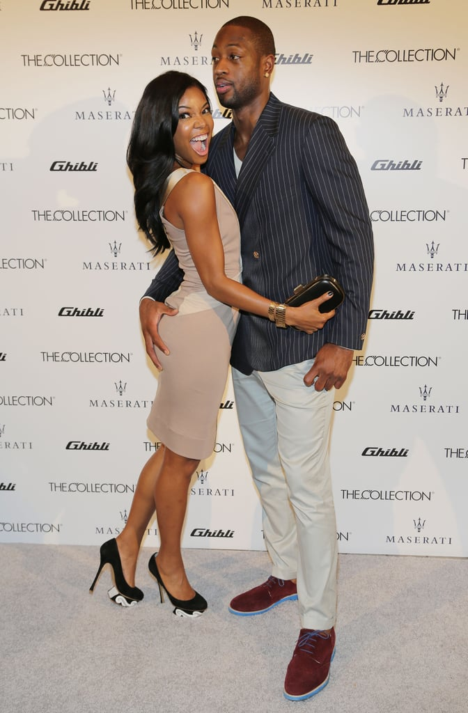 Gabrielle Union And Dwyane Wade Championship 2013 Gabrielle Union...