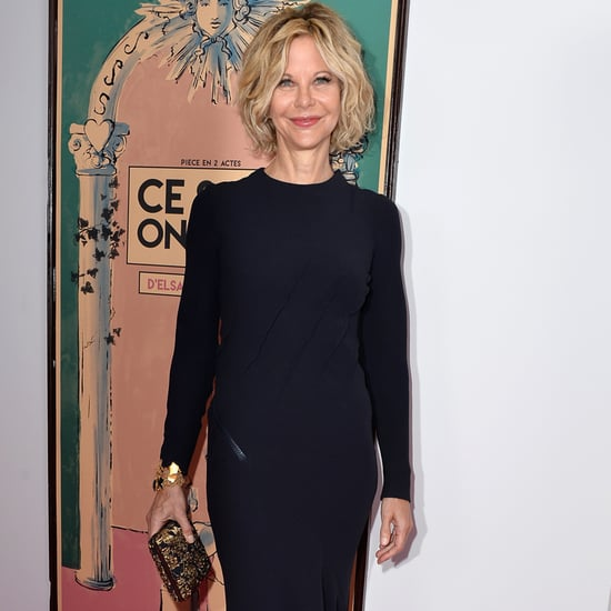 Pictures of Meg Ryan at Paris Fashion Week July 2015