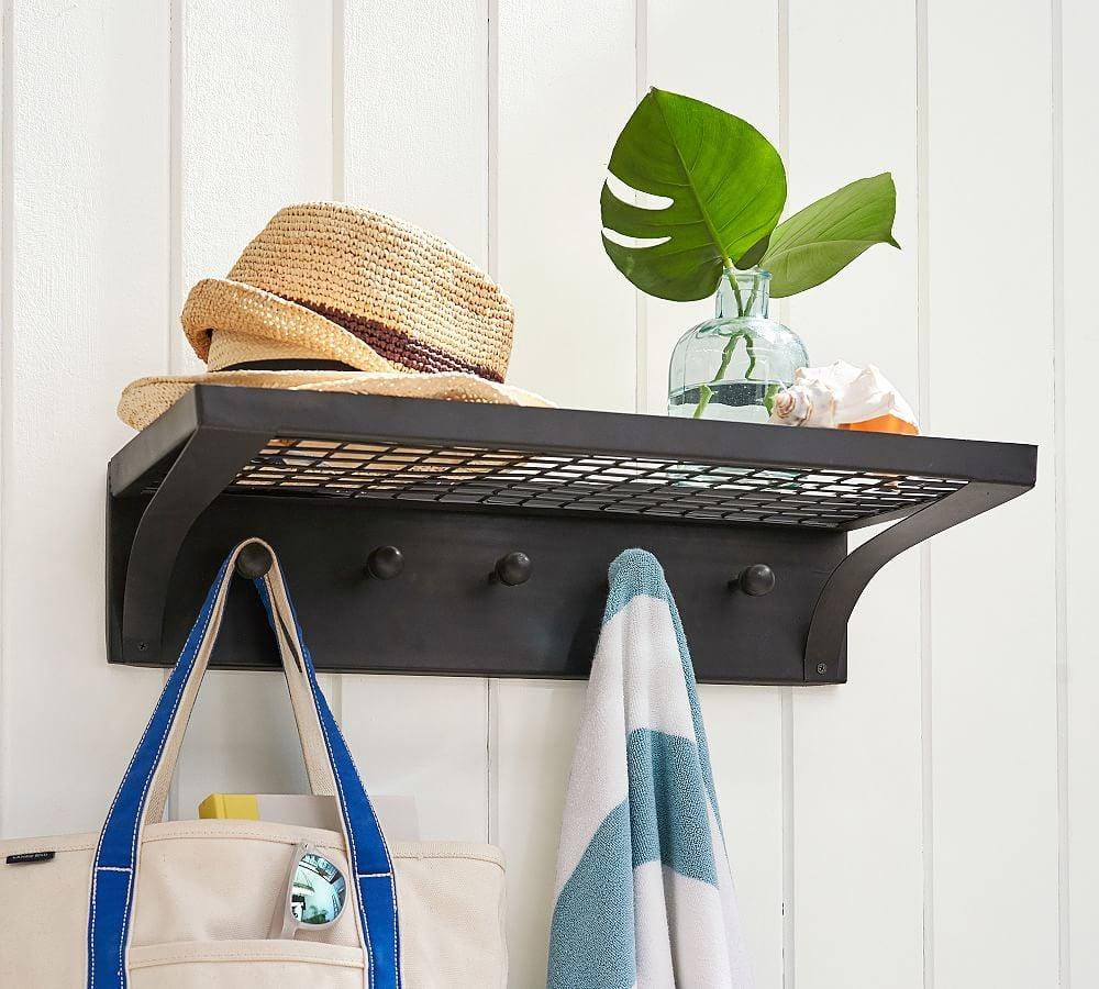 Bronze Pool Storage Shelf