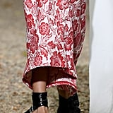 Erdem Shoes on the Runway at London Fashion Week