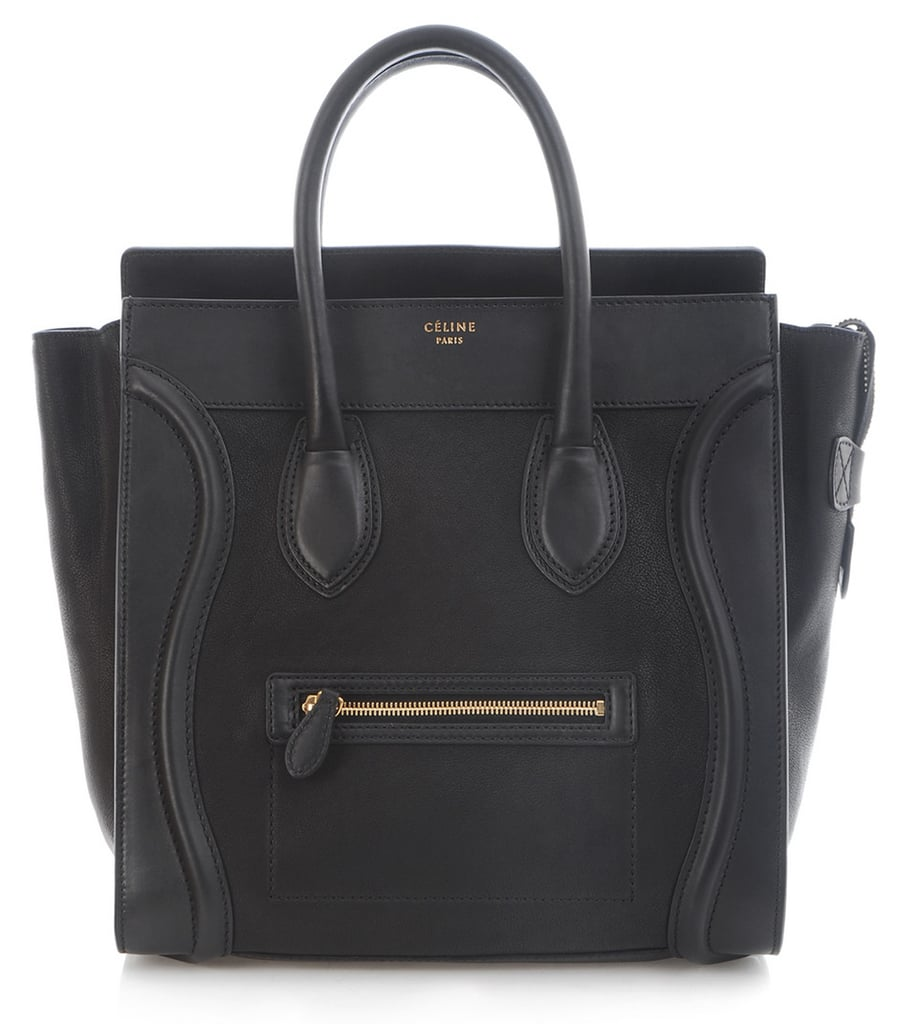 Celine Black Boston Bag