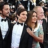 Pictured: Diego Luna, Gael García  Bernal, Salma Hayek, and Francois-Henri Pinault.