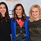 Aubrey Plaza, Rashida Jones and Amy Poehler attended the Trevor Live benefit in LA.