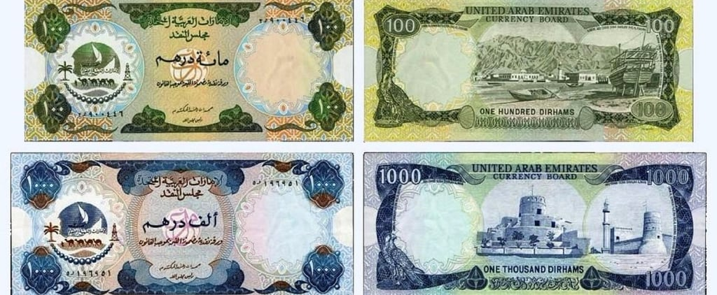 Finding 1 of These UAE Currency Notes Could Be Worth AED4,000