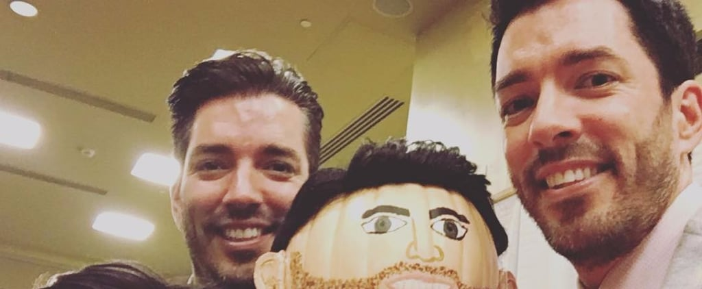 These Property Brothers-Inspired Pumpkins Are Hilariously Creepy