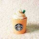 BeHappyBeUrself Orange Creamsicle Starbucks Frappuccino Bath Bomb