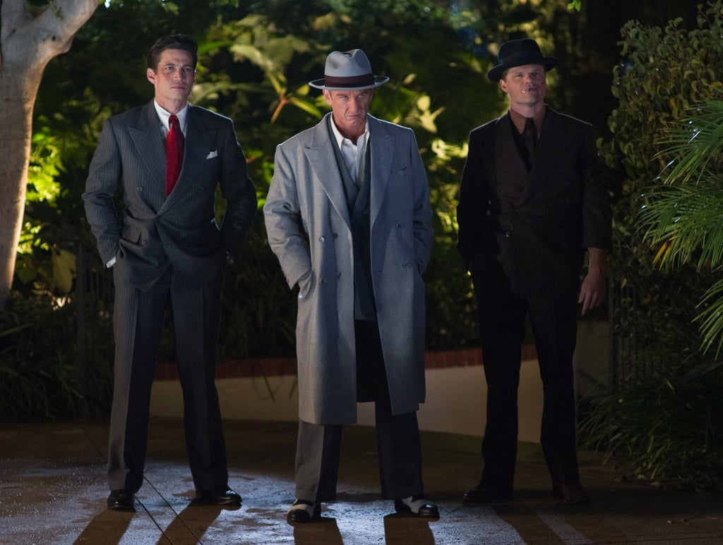 James Carpinello, Sean Penn, and Evan Jones in Gangster Squad.
