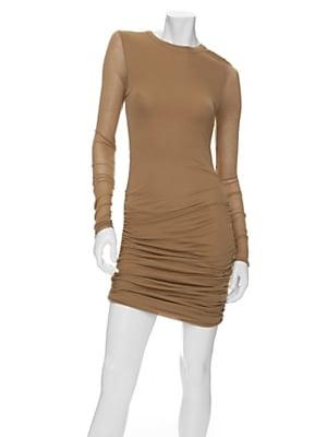 A.L.C Ruched Jersey Mini Dress - $298.00 at IntermixOnline.com
