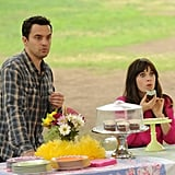 And when Nick organizes a birthday party for Jess in the park, of course they show up to the wrong party.