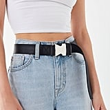Urban Outfitters Webbed Speed Clip Belt