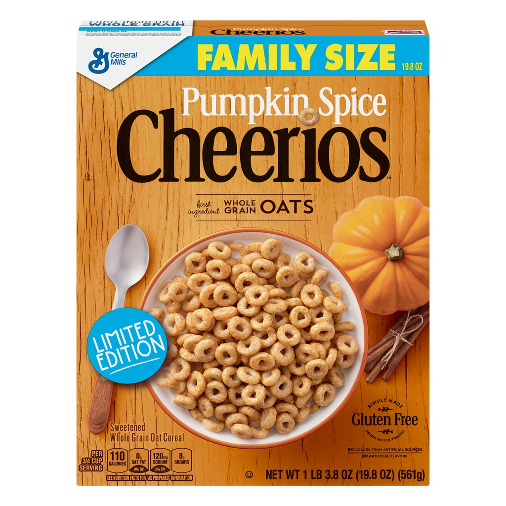 General Mills Pumpkin Spice Cheerios