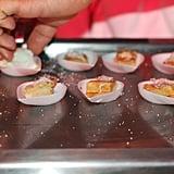 Stone Crab Waffles With Quail Eggs