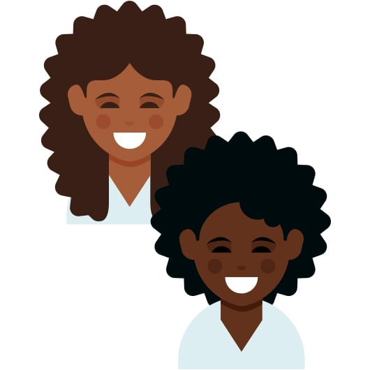 Emoji For Curly Hair And Dark Skin Tones Popsugar Latina