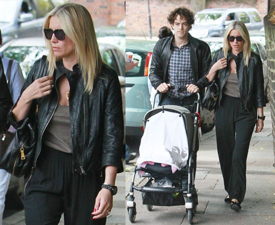 Pictures of Denise Van Outen and Lee Mead With Baby Betsy