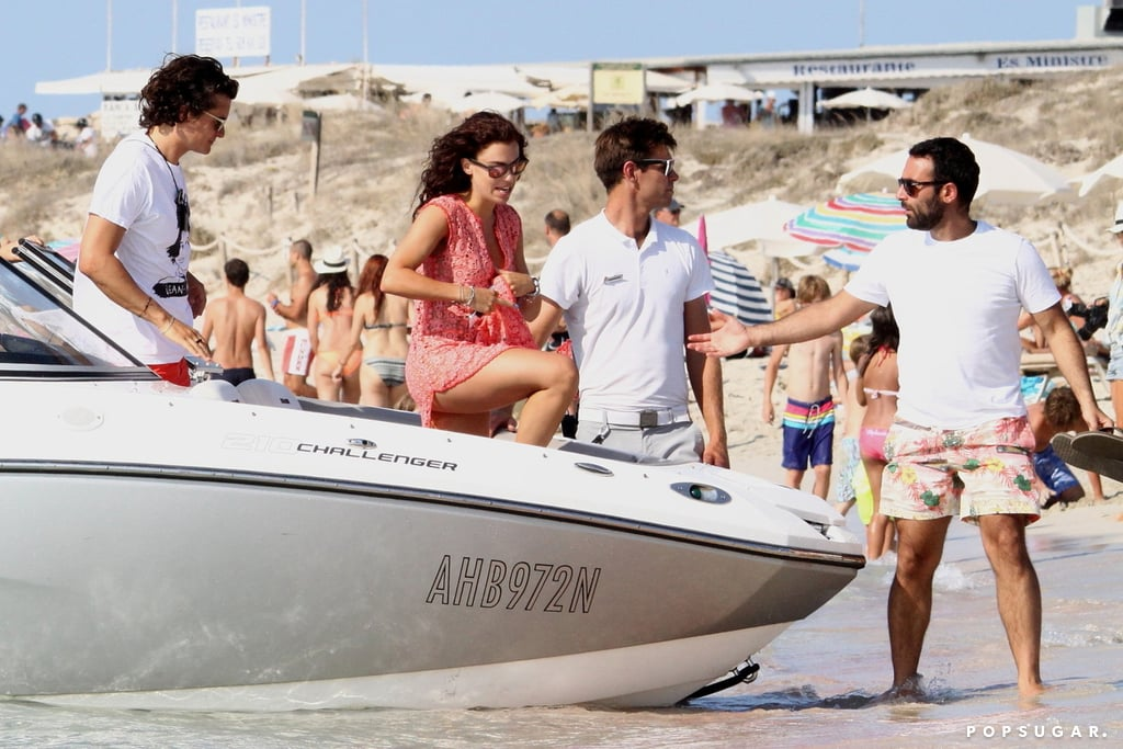 Orlando Bloom With Erica Packer | Pictures