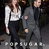 Sophie Turner Matched Joe Jonas in a Menswear-Inspired Ensemble