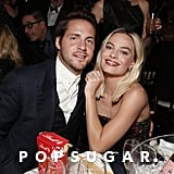 Tom Ackerley and Margot Robbie at the 2020 Golden Globes