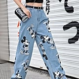 Summer Mickey Loose Jeans