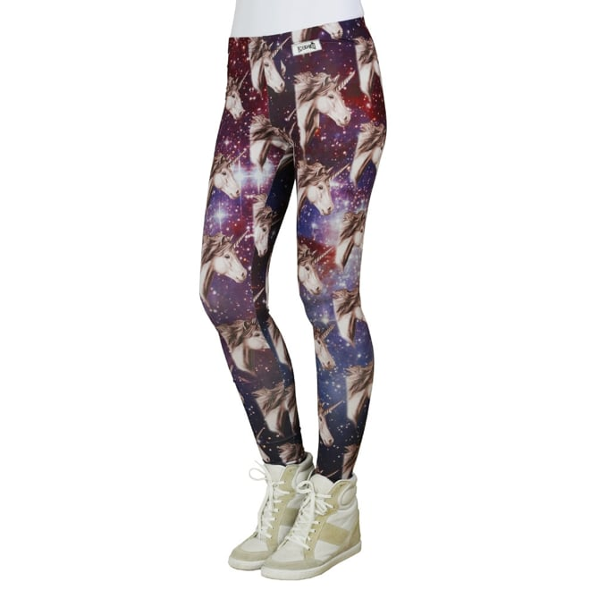 Forget the body, these leggings ($22) are all about unicorn heads.